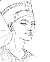 Nefertiti by ElychazTut97