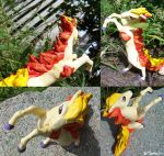 A Wild Ponyta Appears by Plaguedog