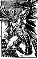 Batman swings by gammaknight