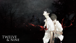 Wallpaper: Zankyou no Terror - TWELVE AND NINE. by Kirbytch