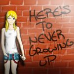 Here's to Never Growing Up by ZeBunnyzz