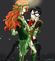 Ivy x Robin -capture- by HezuNeutral