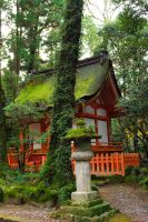 Shrines : Temple Building 02 by taeliac-stock