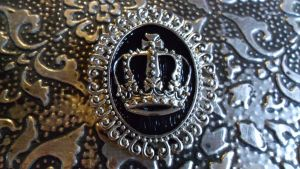 Big Crown Pin by TheLovelyBoutique