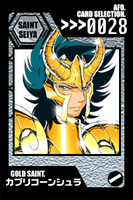 SS Cards - Capricorn Shura by afo2006
