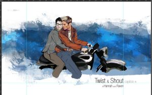 Twist And Shout - I chapter - cover color test by Franciswill