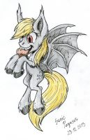 Derpy Bat by SonicPegasus