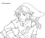 Link lineart by panzergal