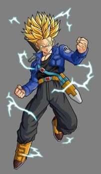 Future Trunks, SSJ2 by hsvhrt