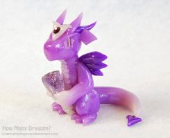 Amethyst Dragon by HowManyDragons