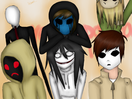 Creepypasta by Wolfy-Doll