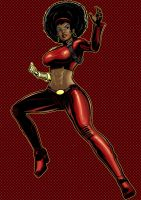 Misty Knight Prestige Series Commission by Thuddleston