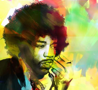 Little Wing - Jimi Hendrix by yorkey-sa