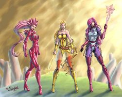 She-Ra Princess of Power - Star Sisters v2 by Killersha