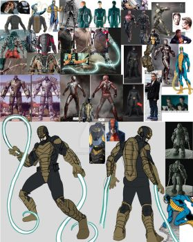 Constrictor Inspiration Board A by Needham-Comics