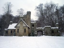 Snowy Squires Castle by KiwiRose-Stock