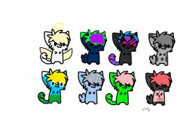 Kitten Adoptables #7, 5 Points or less by Foreststone