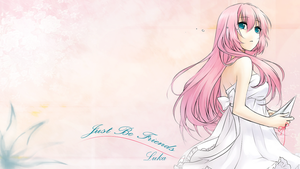 Vocaloid Luka Wallpaper by TopHatea