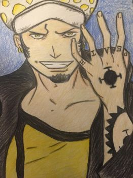 Trafalgar Law by E-Animelover22