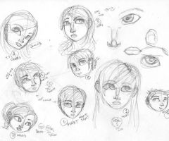Experimenting with Face Shapes by IPwnsU