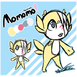 Momomo Ref by ToLoveaKiwi