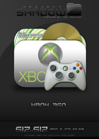 Shadow Icon: Xbox 360 by JayJaxon