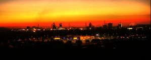 DU-Nord Sunset Panorama by heyrem