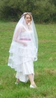 bride on a field 2 by indeed-stock