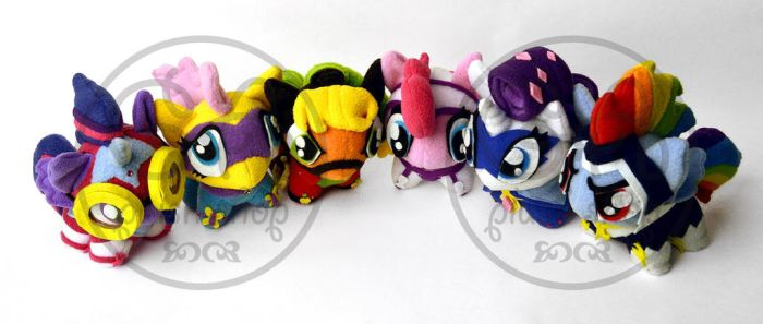 Power Ponies by GingerAle2016