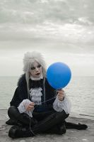 GOTHIC_A gothic Pierrot_Like a bubble dream by TheOuroboros