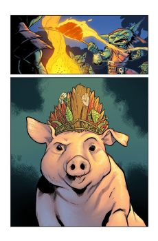 Pathfinder: Goblins #2  Magic Pig p1 by bonvillain