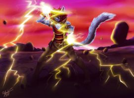 :Commission: Lighting Power by YuikZ