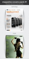 Magazine Covers Pack #1 by frozencolor