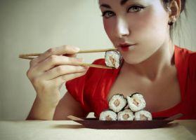 Sushi lovers by ShadowsOfTheDay