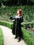 KH2 - Marluxia Cosplay 01 by Orchidias