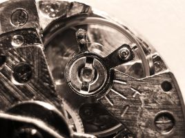 Clockwork, sepia by strauseba