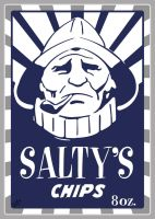 Salty's chips by tinamin1