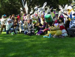 League of Legends at Fanime 2012 by IvrinielsArtNCosplay