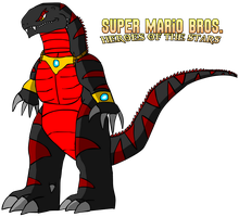 SMB Heroes of the Stars - Asylus Design by KingAsylus91