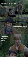 The man I love - Merthur by FreakyFangirl97