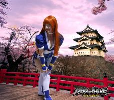 kasumi dead or alive (DOA) by kami-cosplay