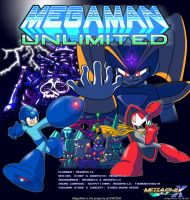 MegaMan Unlimited Cover 2010 by MegaPhilX
