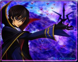 Lelouch - Code Geass by Colossobm