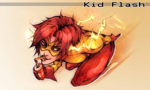 The Kid Flash by XMenouX