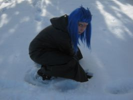 Saix: Crouch by pixiedustling