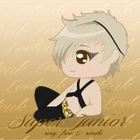 Super Junior Sexy Free Single LEETEUK by anime234dotcom