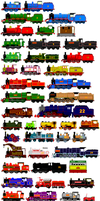 Thomas and Friends Animated Characters 11 by JamesFan1991