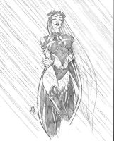 Storm sketch by stalk