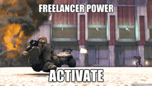 Red vs Blue Freelancer Power, ACTIVATE! by Dustiniz117