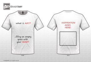 Art is .....filling an empty space with your heart by zalmyw88